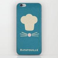 Ratatouille - Minimalist… iPhone & iPod Skin
