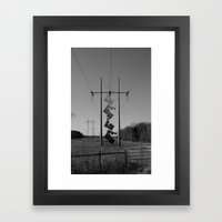 Dissipate Framed Art Print