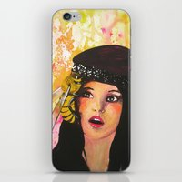 There's A Bee In My Bonnet! iPhone & iPod Skin