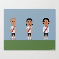 River Plate Canvas Print