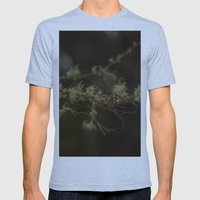 Tree Fuzz Mens Fitted Tee Athletic Blue SMALL