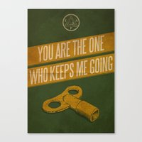 You Keep Me Going Canvas Print