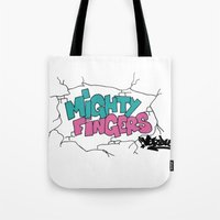 Mighty Fingers Tote Bag
