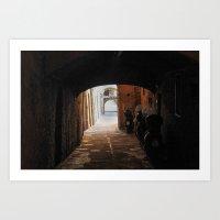 Italian Alleyway Art Print