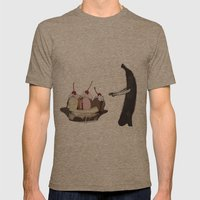 The Fruit That Ate Itsel… Mens Fitted Tee Tri-Coffee SMALL