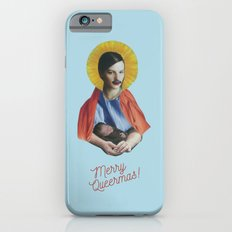 Merry Queermas (Writing) iPhone 6 Slim Case