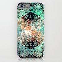 autumn tree - vessel pattern 2 iPhone 6 Slim Case