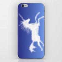 Cloudy Unicorn iPhone & iPod Skin
