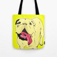 Greta The Bulldog Tote Bag