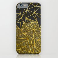 Bullion Rays (gold) iPhone 6 Slim Case