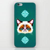 Grumpy Cat Geometric Pat… iPhone & iPod Skin