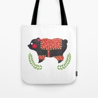 The Ethnic Bear Tote Bag