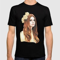 LDR Mens Fitted Tee Black SMALL