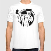 Blood, Toil, Tears, And … Mens Fitted Tee White SMALL