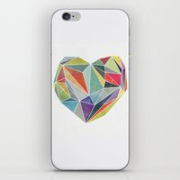 Heart Graphic 5 iPhone & iPod Skin