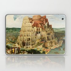 The Tower Of Babel 1563 Laptop & iPad Skin