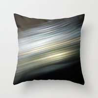 See Vibrations Throw Pillow