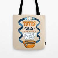 Fanny Pack Wishes Tote Bag