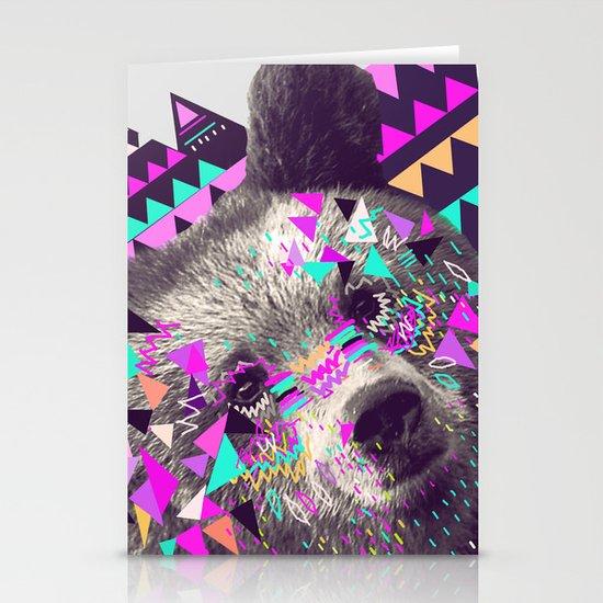 Piñata BEAR  Stationery Card