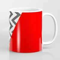 Color Blocked Chevron 10 Mug
