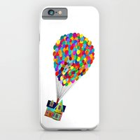 iPhone Cases featuring Disney's UP House  by foreverwars