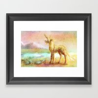 Kirin Framed Art Print