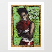 Jean-Michel Basquiat Art Print