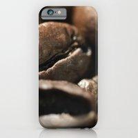 Coffee beans macro photo - fine art - still life - interior decoration, for bar & restaurant,  iPhone 6 Slim Case