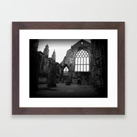 Holyrood Abbey Framed Art Print