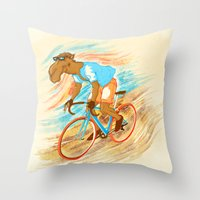 The Times They Are A-Cha… Throw Pillow