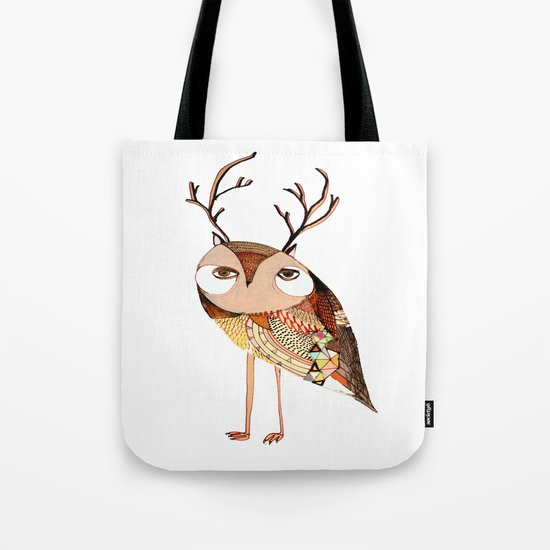 owl print, owl illustration, owl art, owl  Tote Bag