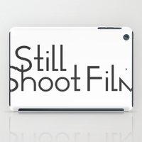I Still Shoot Film - 1line iPad Case