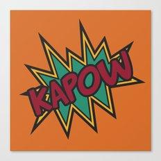 Kapow Canvas Print