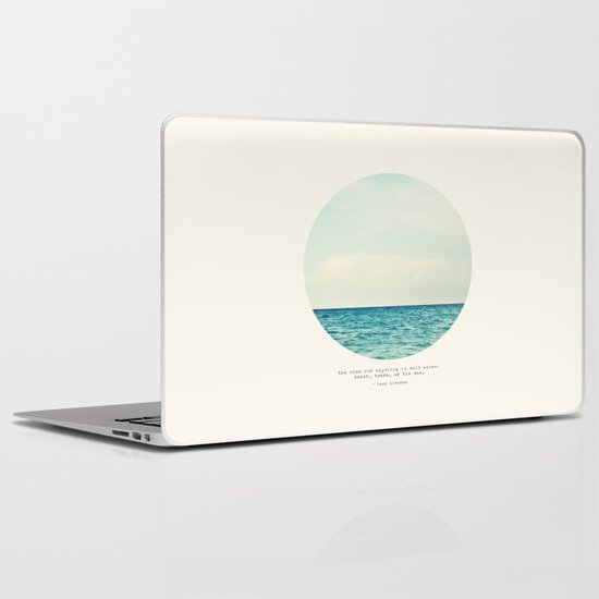 Salt Water Cure Laptop & iPad Skin