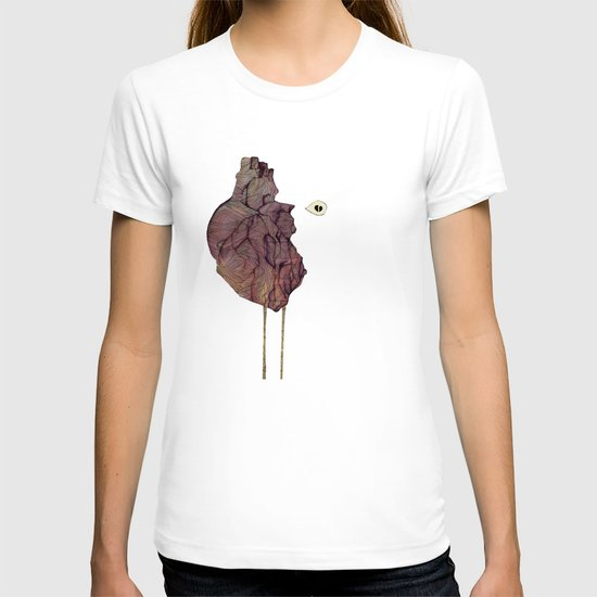 This is not a colorful heart T-shirt