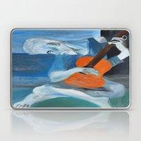 Picasso's Blue Man  Laptop & iPad Skin