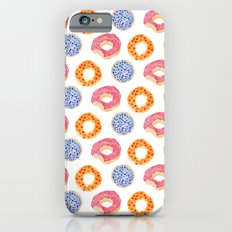 sweet things: doughnuts iPhone 6 Slim Case