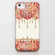 Royal Red Art Deco Doubl… iPhone 5c Slim Case
