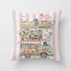 The dream car Throw Pillow