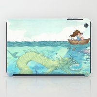 The Lake of Lurking Monsters iPad Case