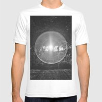 Flare Mens Fitted Tee White SMALL