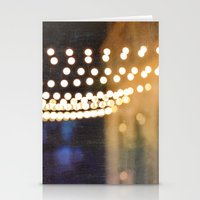 Floating Bokeh Stationery Cards