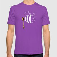 BubbleBee Mens Fitted Tee Ultraviolet SMALL