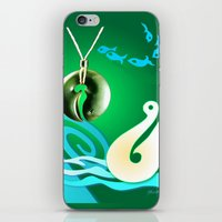 Go Fishing - Hi Ika iPhone & iPod Skin