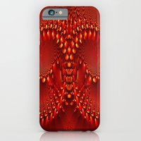 iPhone Cases featuring Red Copper Gem Horns by Bella Mahri