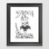 Burnside Framed Art Print
