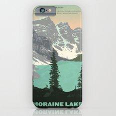 Moraine Lake Poster iPhone 6 Slim Case