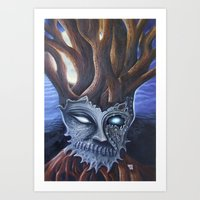 Eyeless Art Print