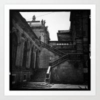Dresden Germany Staircas… Art Print