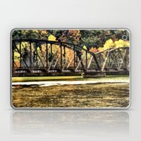 West VA Train Bridge Laptop & iPad Skin